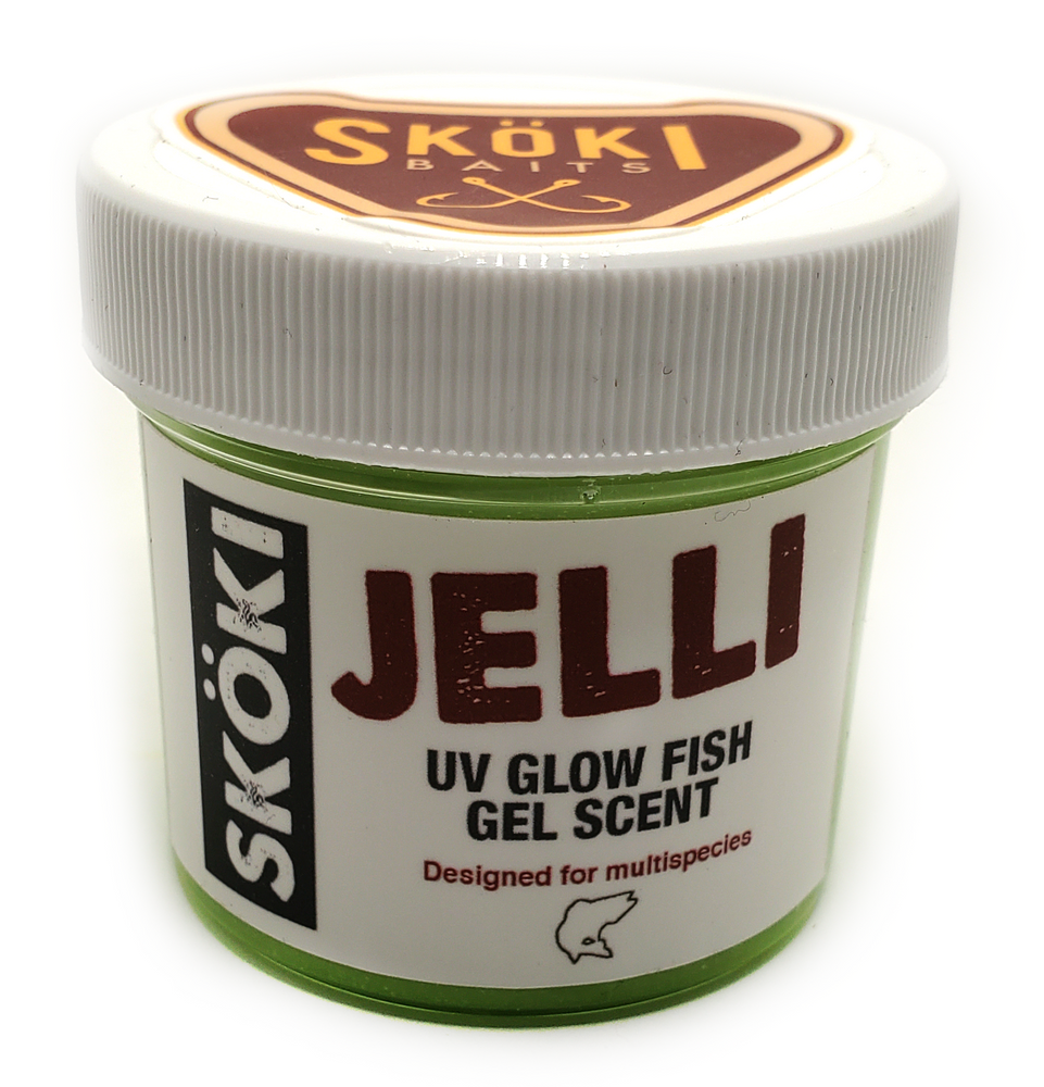 Skoki Jelli - UV Glow Gel Fish Scent