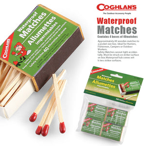 Coghlan's Waterproof Matches (4 Pack)