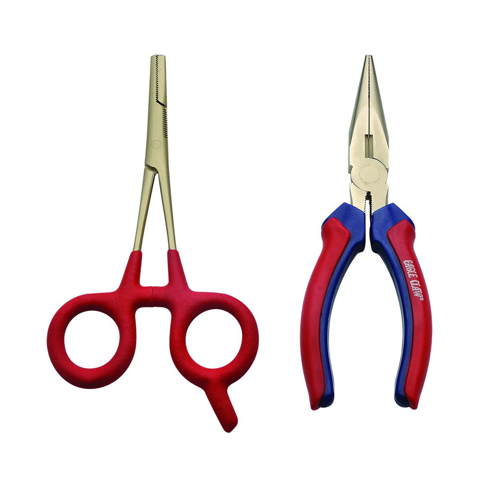 "Eagle Claw 6"" Plier and 5.75"" Forcep Kit"