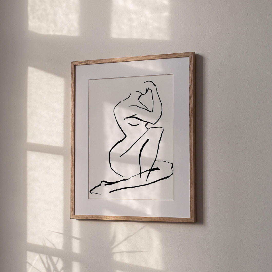 ABSTRACT NUDE - The EveryDay Print Company