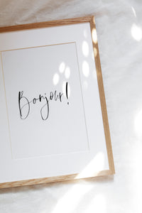 BONJOUR - The EveryDay Print Company