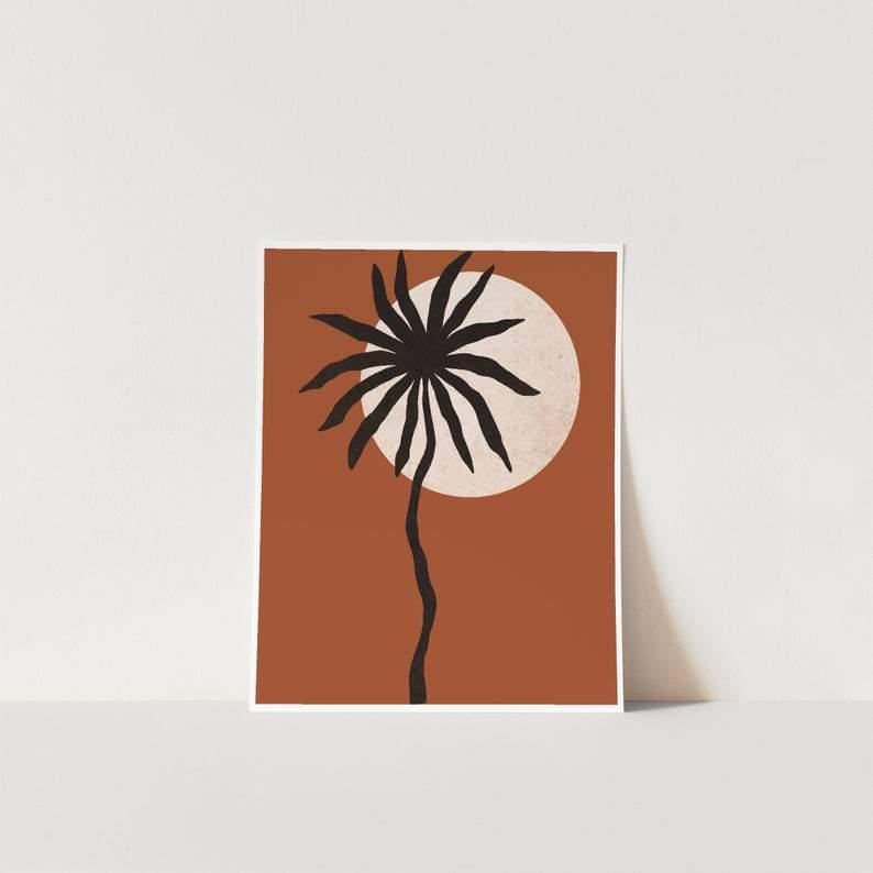 THE TROPICS IN TERRACOTTA - The EveryDay Print Company