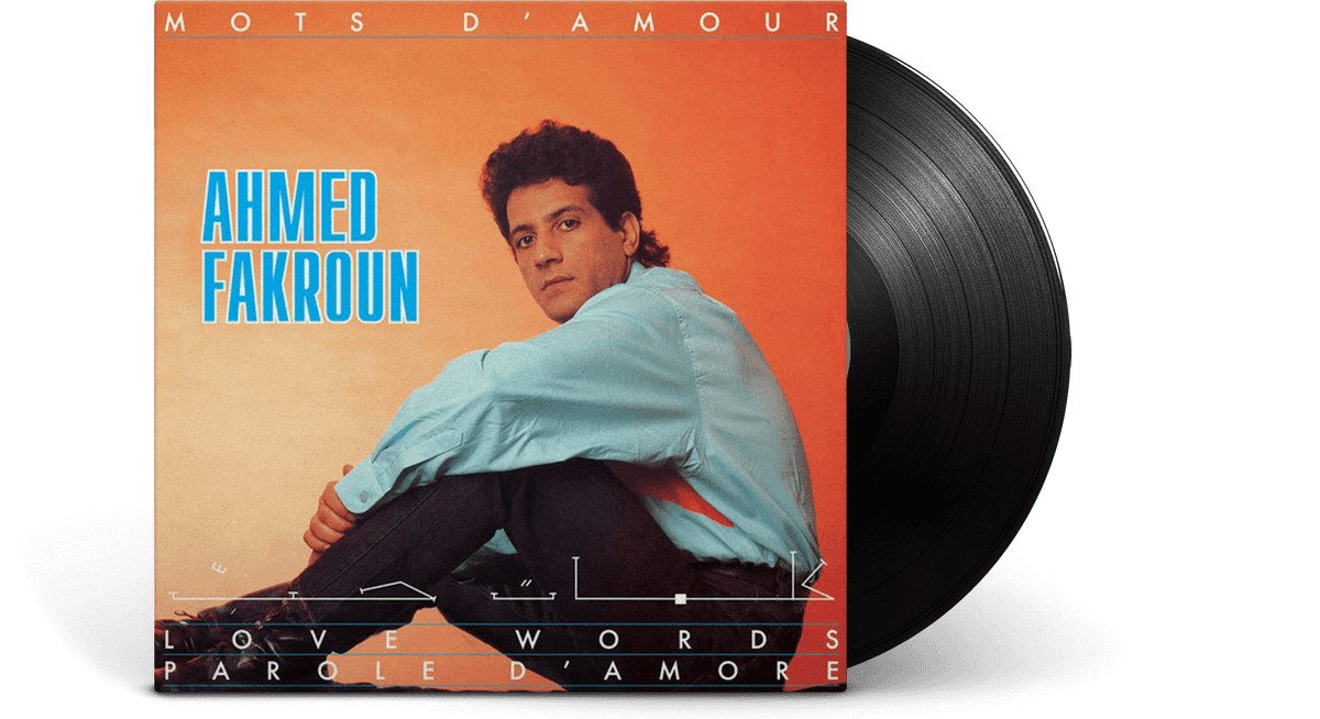 Vinyl - Ahmed Fakroun : Mots D'Amour - The Record Hub