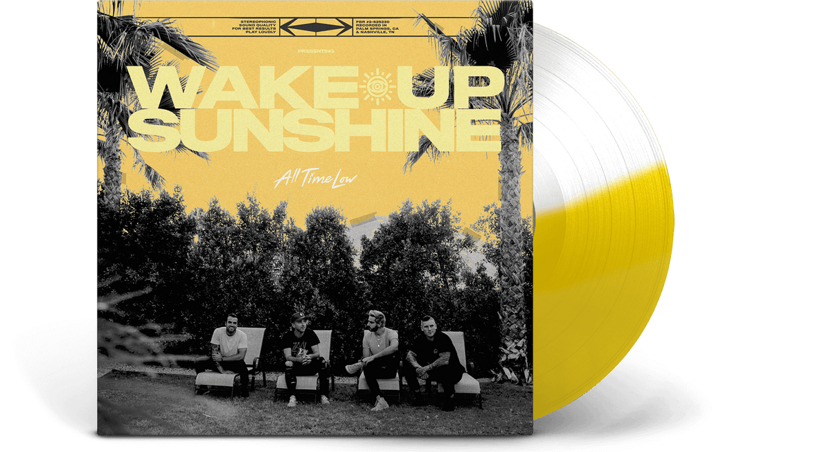 Vinyl - All Time Low : Wake Up Sunshine [LTD Coloured] - The Record Hub