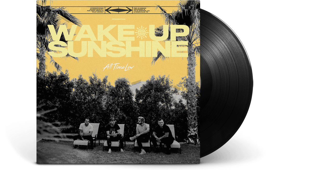 Vinyl - All Time Low<br> Wake Up Sunshine - The Record Hub