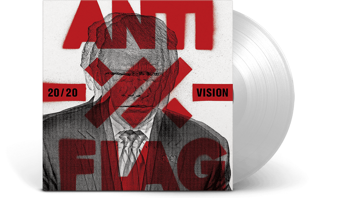 Vinyl - Anti-Flag : 20/20 Vision [Limited Clear Vinyl] - The Record Hub