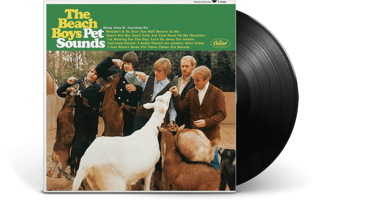 Vinyl - The Beach Boys <br> Pet Sounds - The Record Hub