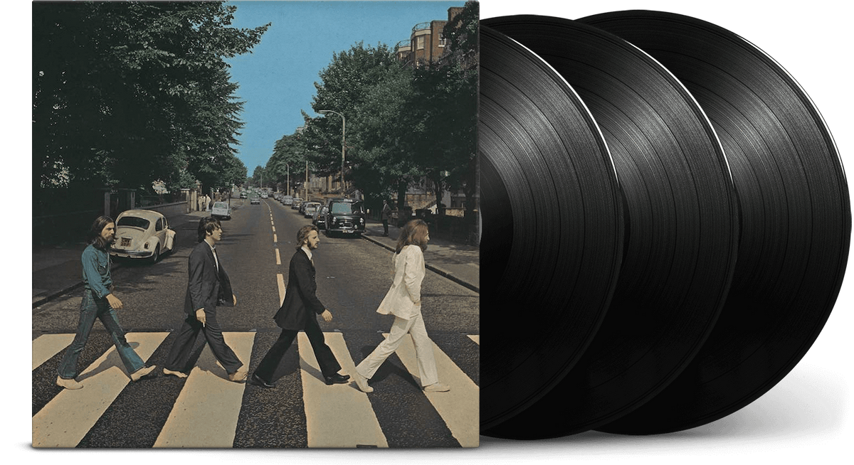 Vinyl - The Beatles : Abbey Road [Deluxe 3LP] - The Record Hub