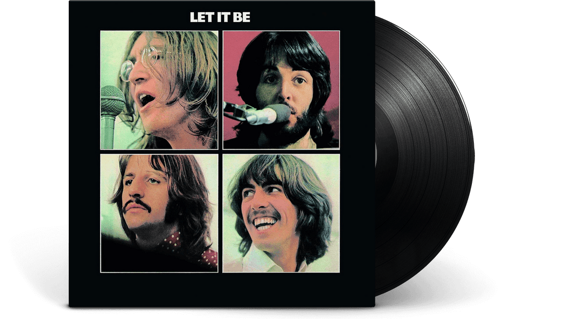 Vinyl - The Beatles : Let It Be - The Record Hub