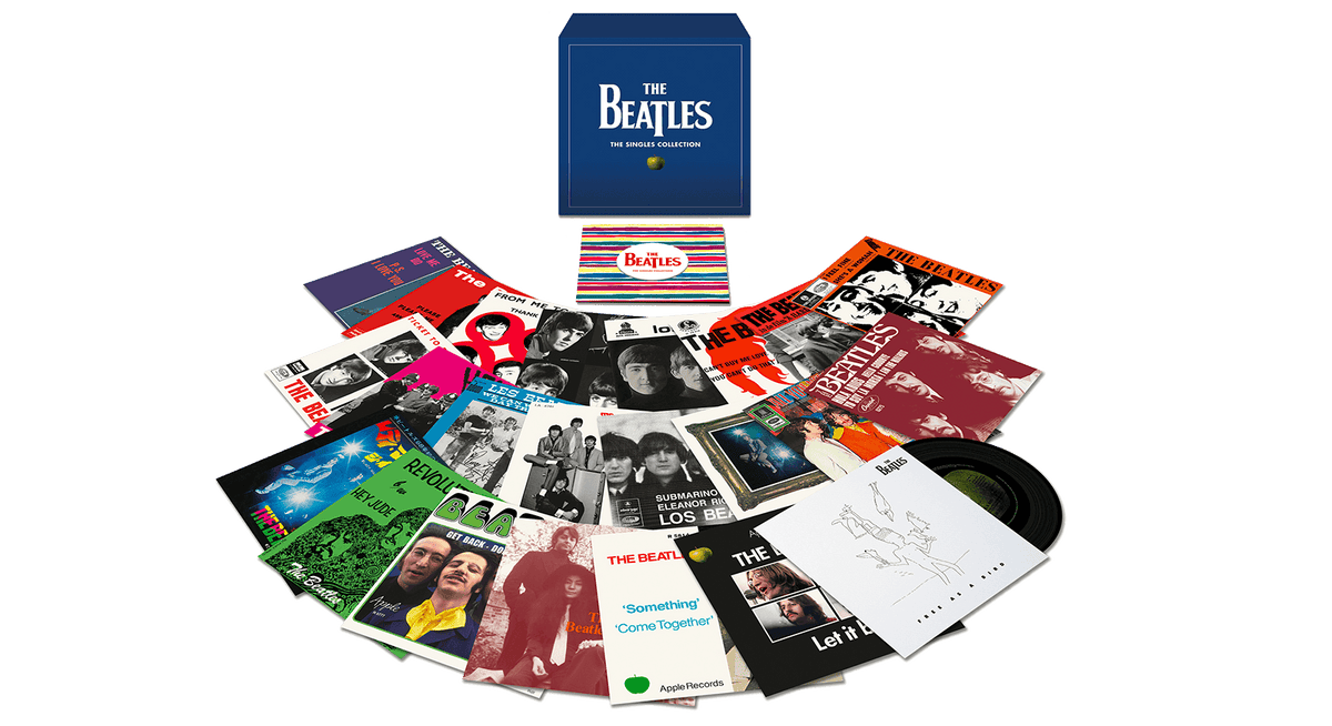 "Vinyl - The Beatles : 7"" Singles - The Record Hub"