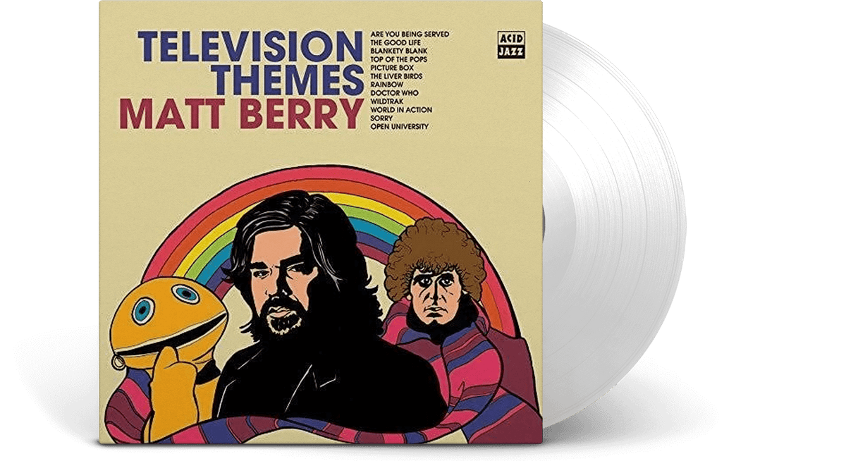 Vinyl - Matt Berry : TV Themes - The Record Hub