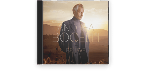 Vinyl - Andrea Bocelli : Believe (CD) - The Record Hub
