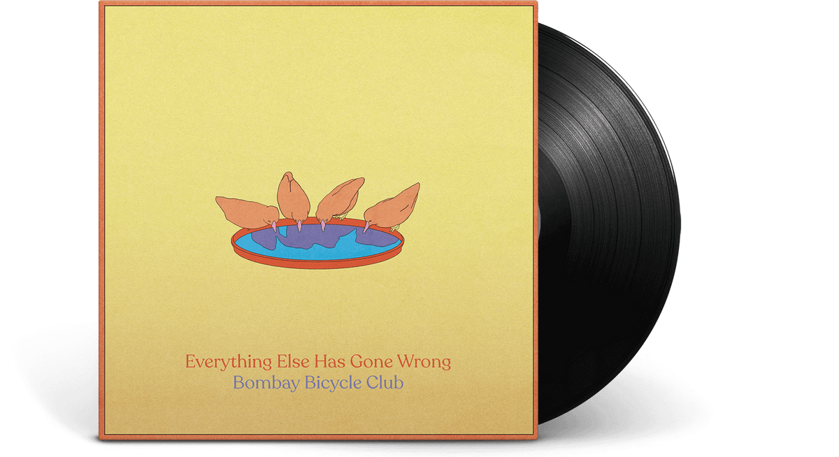Vinyl - Bombay Bicycle Club : Everything Else Has Gone Wrong - The Record Hub