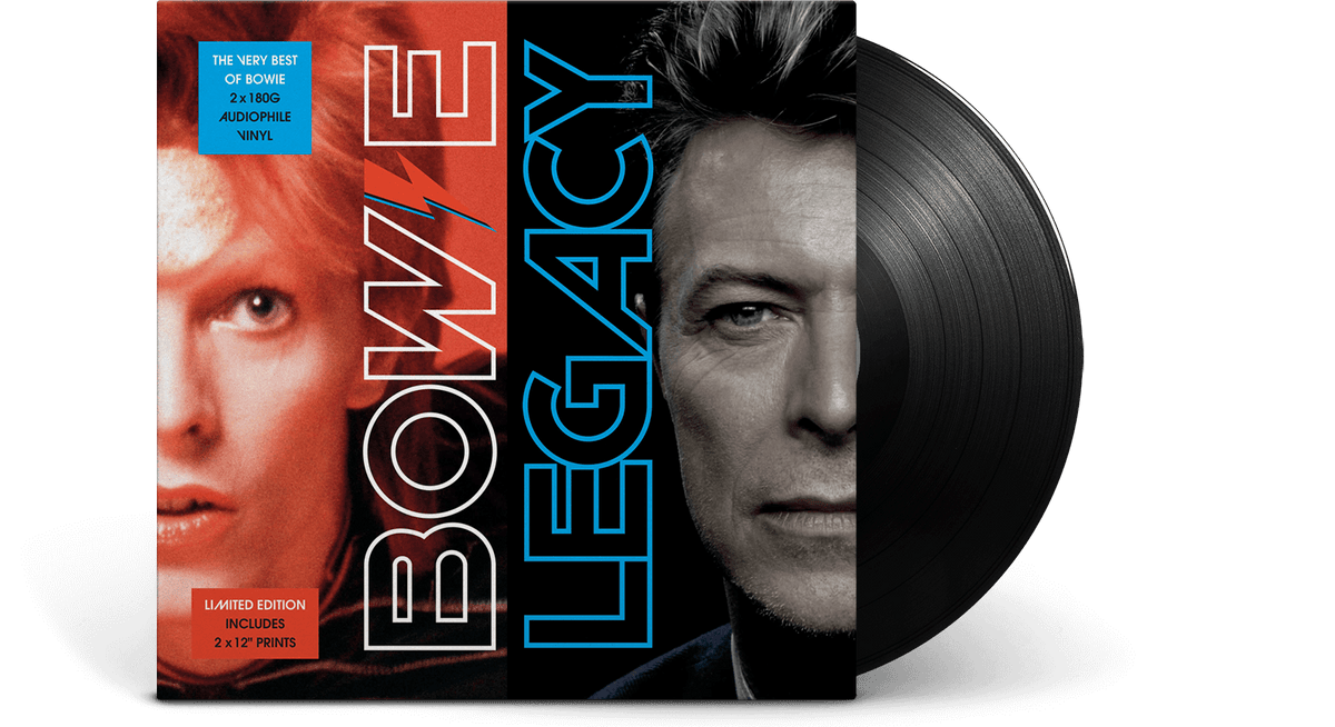 Vinyl - David Bowie <br> Legacy: The Best of Bowie - The Record Hub