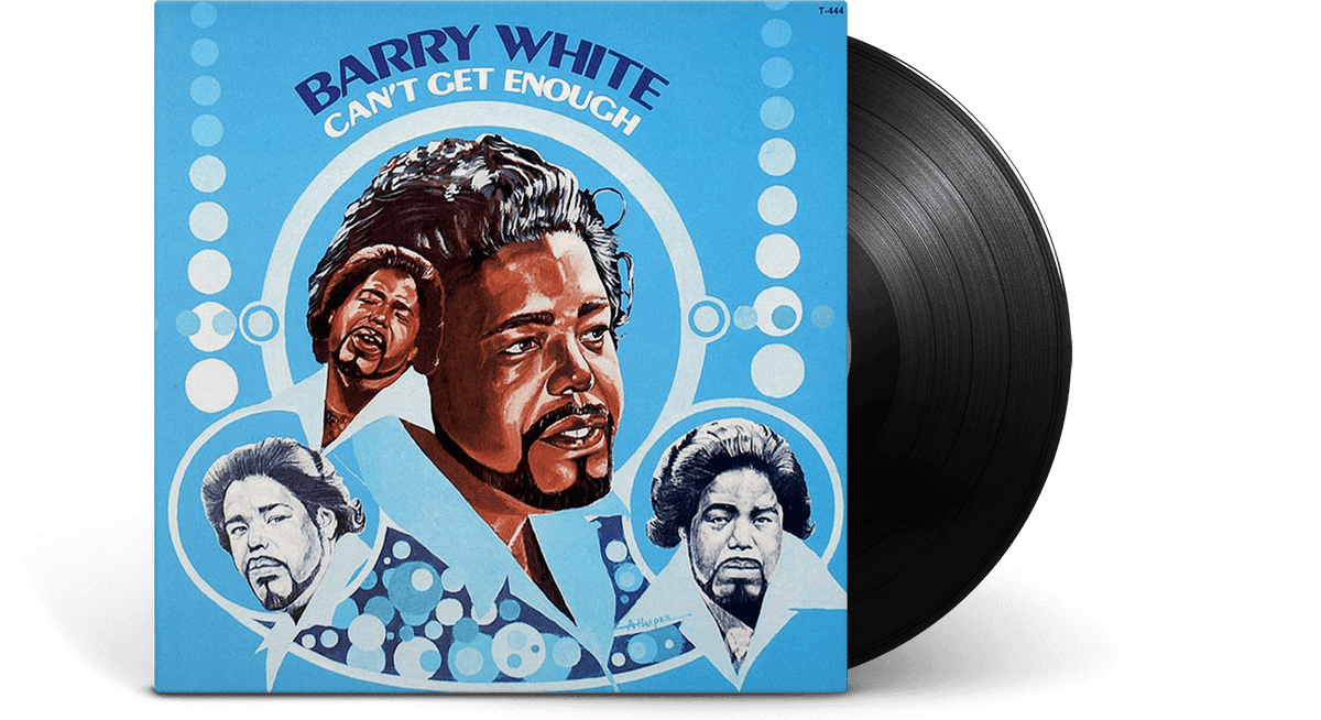 Vinyl - Barry White : Can't Get Enough - The Record Hub