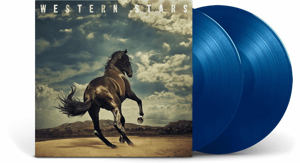 Vinyl - Bruce Springsteen : Western Stars (Blue Vinyl) - The Record Hub