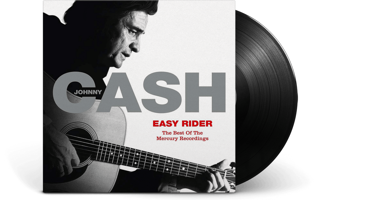 Vinyl - Johnny Cash : Easy Rider: The Best Of The Mercury Recordings - The Record Hub