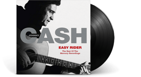 Vinyl - Johnny Cash<br> Easy Rider: The Best Of The Mercury Recordings - The Record Hub