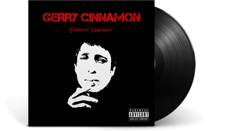 Vinyl - Gerry Cinnamon<br>Erratic Cinematic - The Record Hub