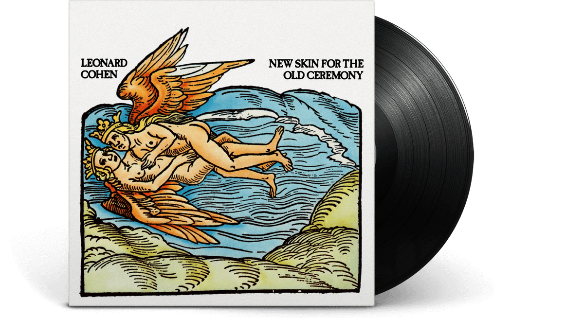 Vinyl - Leonard Cohen : New Skin for the Old Ceremony - The Record Hub