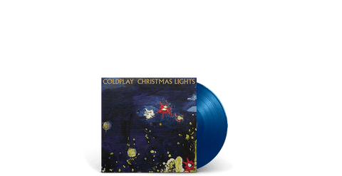 "Vinyl - Coldplay : Christmas Lights (7"" Blue Vinyl) - The Record Hub"