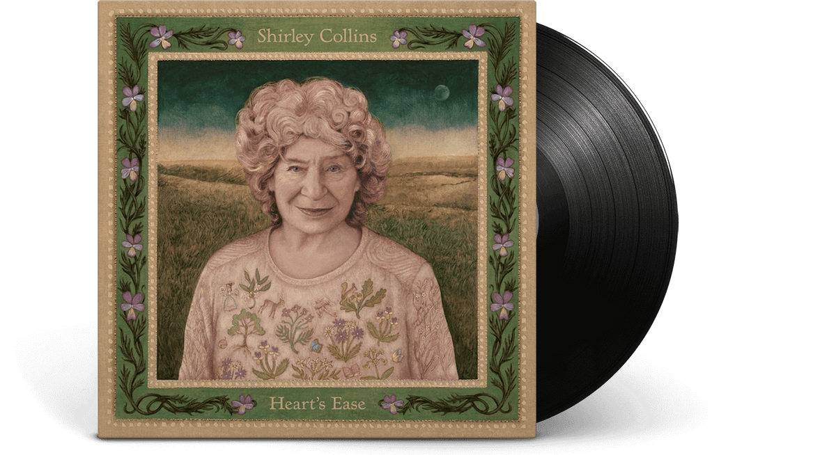 Vinyl - Shirley Collins : Heart's Ease (Deluxe Sleeve) - The Record Hub