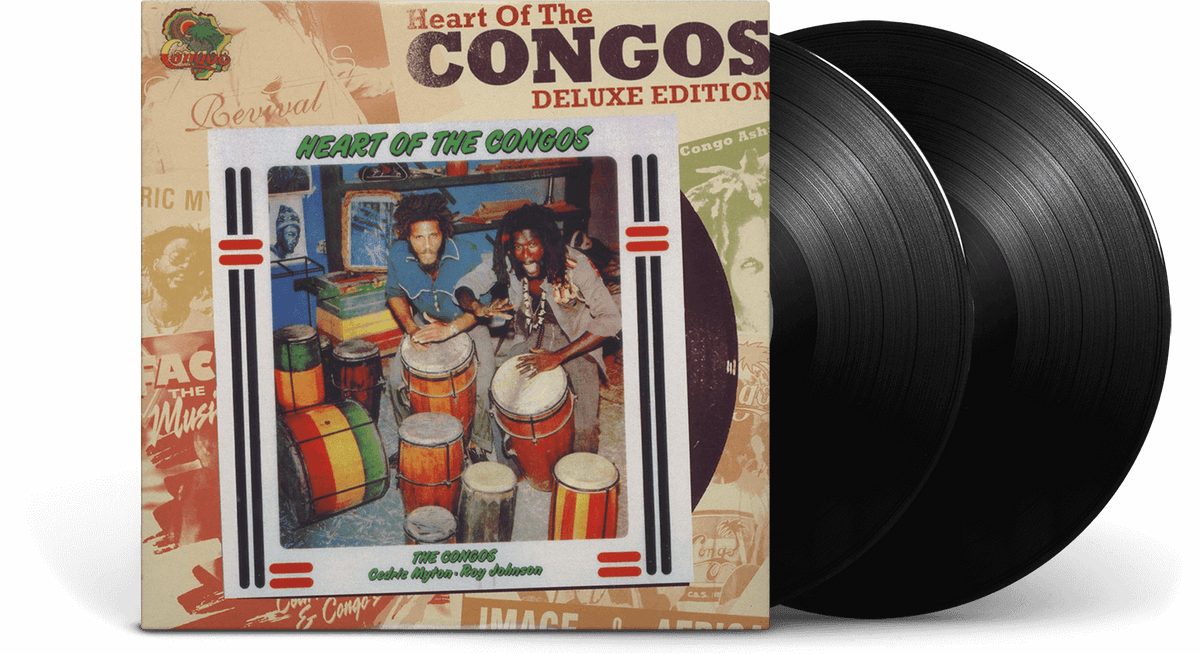 Vinyl - The Congos : Heart of the Congos - The Record Hub