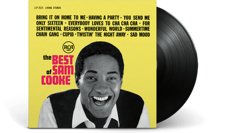 Vinyl - Sam Cooke<br>The Best Of Sam Cooke - The Record Hub