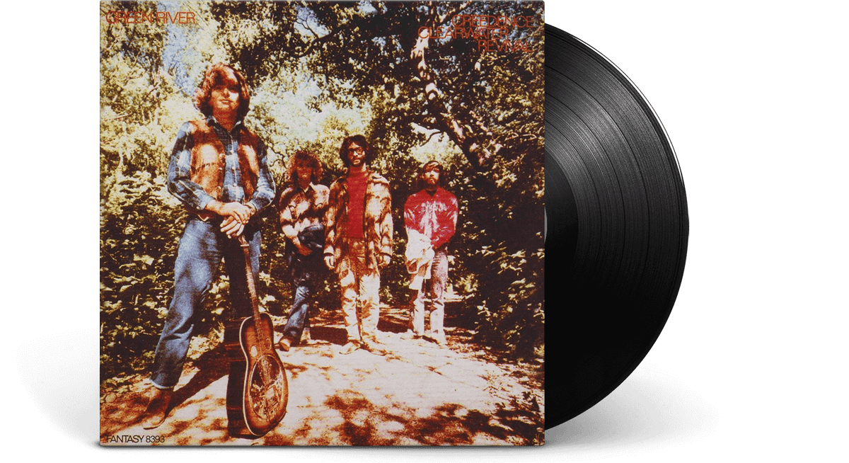 Vinyl - Creedence Clearwater Revival : Green River - The Record Hub