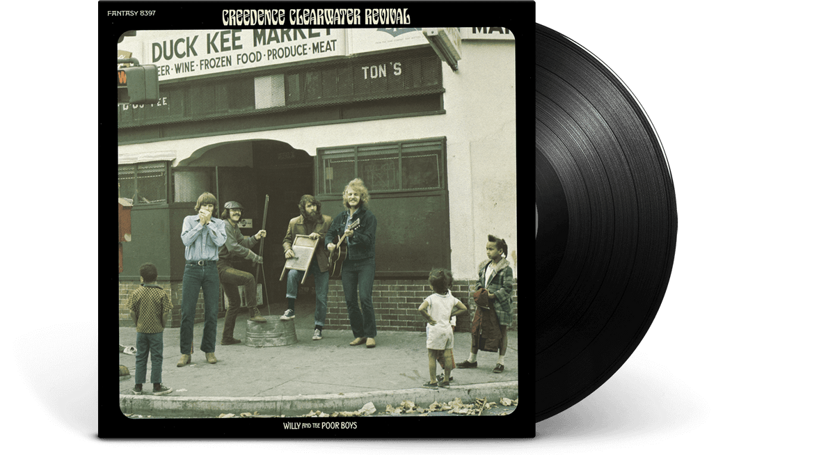 Vinyl - Creedence Clearwater Revival : Willy & The Poor Boys - The Record Hub