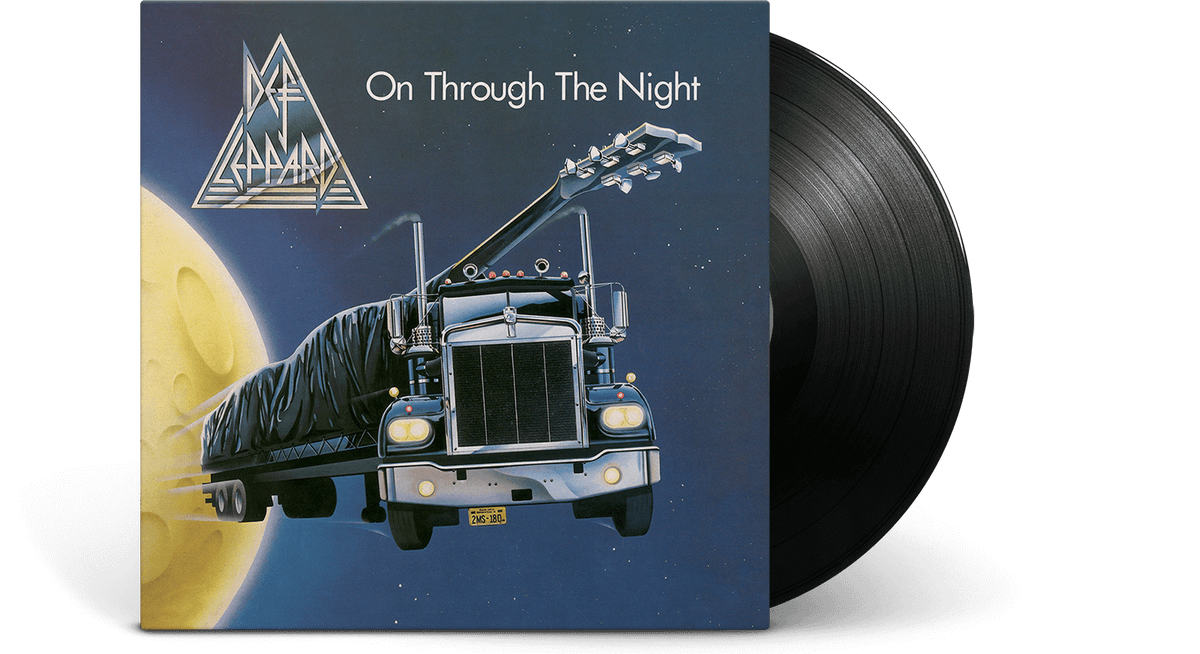 Vinyl - Def Leppard : On Through The Night - The Record Hub