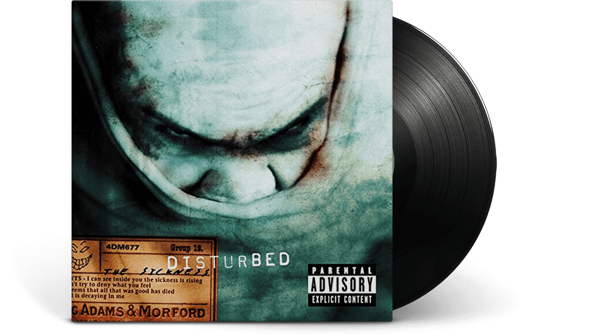 Vinyl - Disturbed : The Sickness - The Record Hub