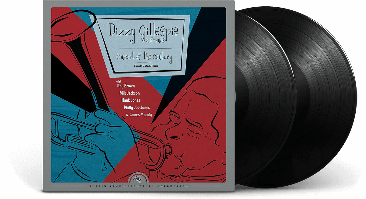 Vinyl - Dizzy Gillespie & Friends : Concert of the Century - A Tribute to Charlie Parker (2-LP, 180 Gram Vinyl) - The Record Hub