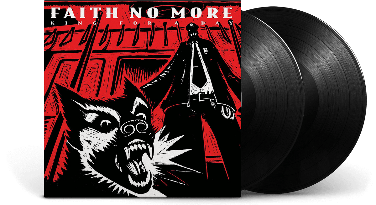 Vinyl - Faith No More : King for a Day... Fool for a Lifetime (2016 Remastered Version) [Deluxe Edition] - The Record Hub