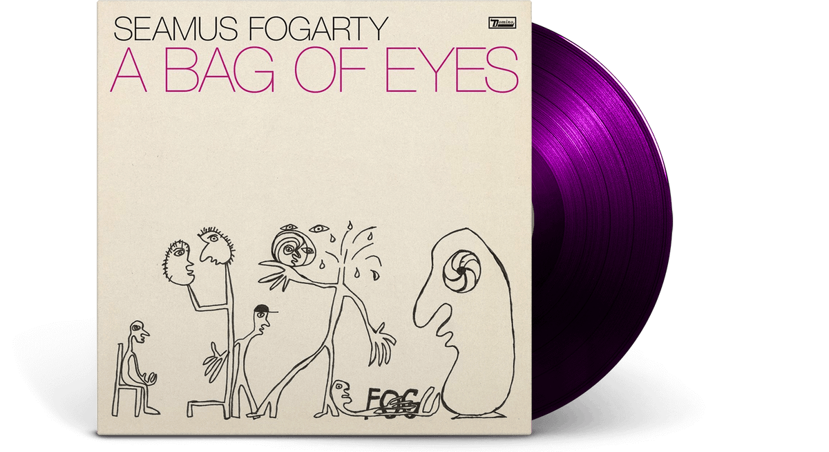 Vinyl - Seamus Fogarty : A Bag Of Eyes (Ltd Violet Vinyl) - The Record Hub