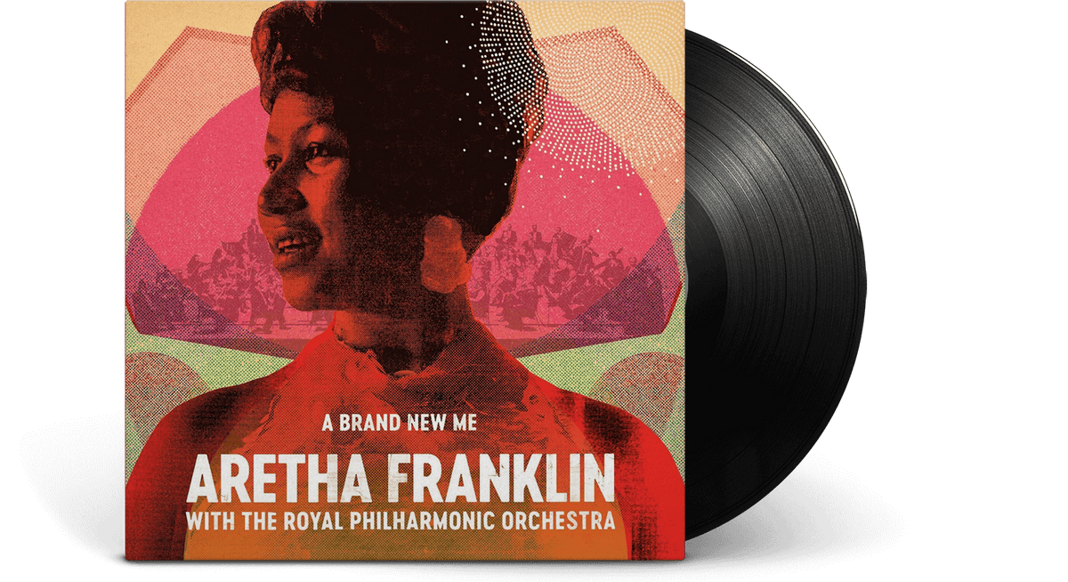 Vinyl - Aretha Franklin : A Brand New Me: Aretha Franklin (with The Royal Philharmonic Orchestra) - The Record Hub