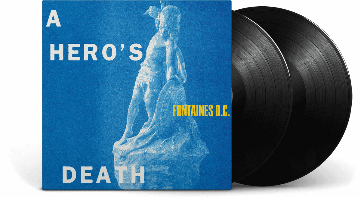 Vinyl - Fontaines D.C. : A Hero's Death [Deluxe] - The Record Hub