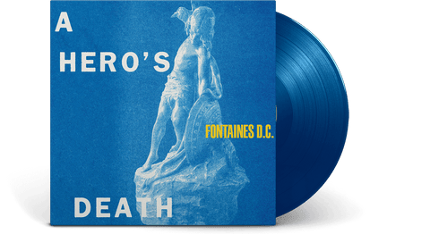 Vinyl - [Pre-Order: 31/07] Fontaines D.C.<br> A Hero's Death [LTD Coloured Vinyl] - The Record Hub