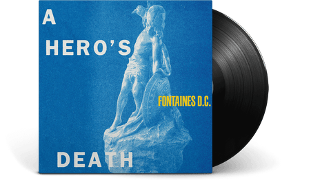 Vinyl - [Pre-Order: 31/07] Fontaines D.C.<br> A Hero's Death - The Record Hub
