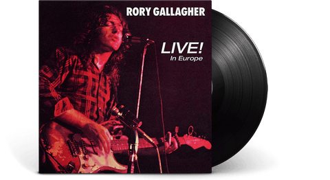 Vinyl - Rory Gallagher <br> Live! In Europe - The Record Hub