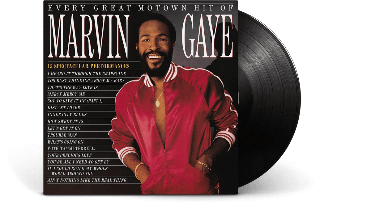 Vinyl - Marvin Gaye : Every Great Motown Hit - The Record Hub
