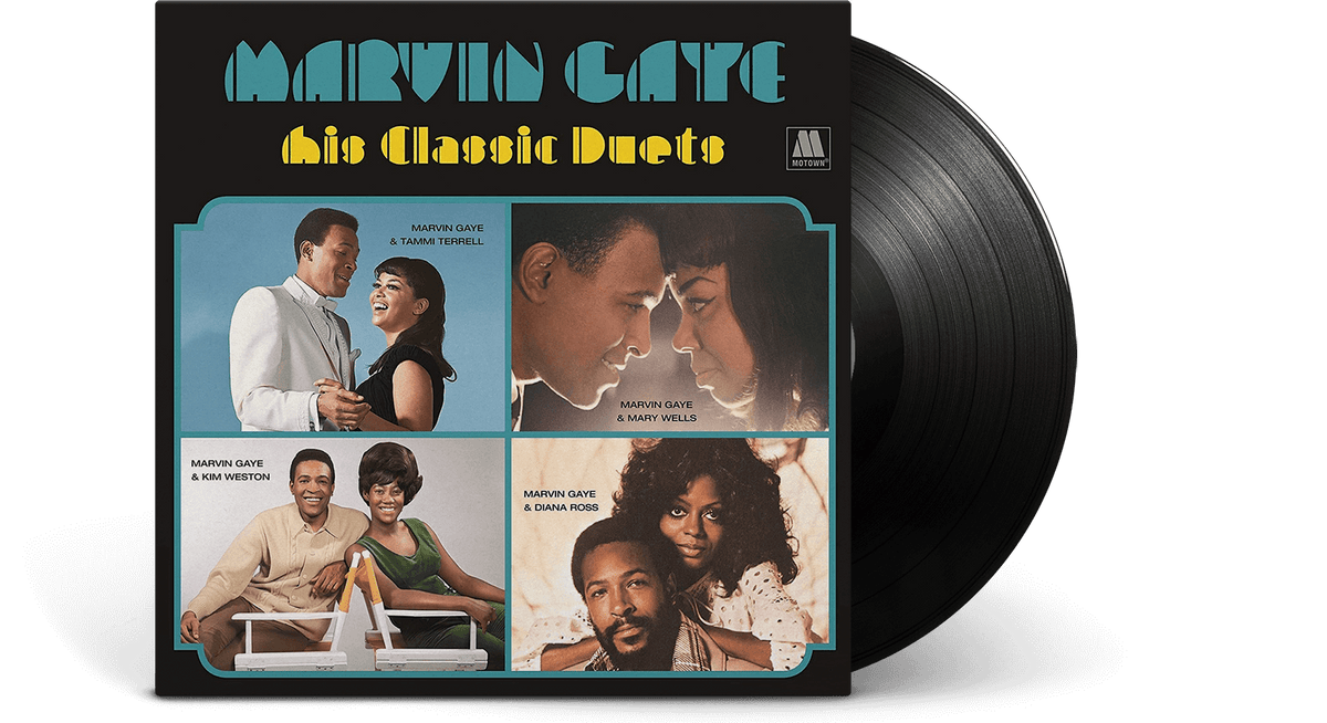Vinyl - Marvin Gaye : His Classic Duets - The Record Hub