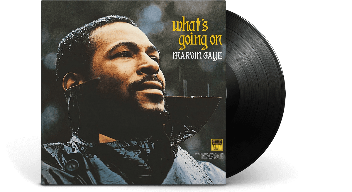 Vinyl - Marvin Gaye : What's Going On - The Record Hub