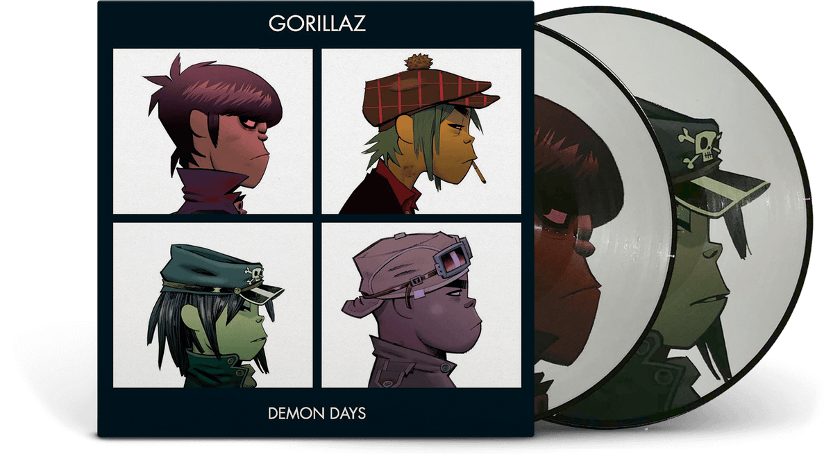 Vinyl - Gorillaz : Demon Days - The Record Hub