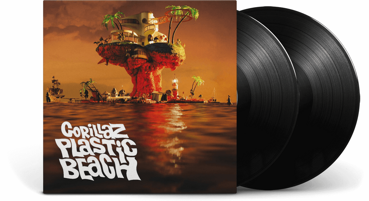 Vinyl - Gorillaz : Plastic Beach - The Record Hub