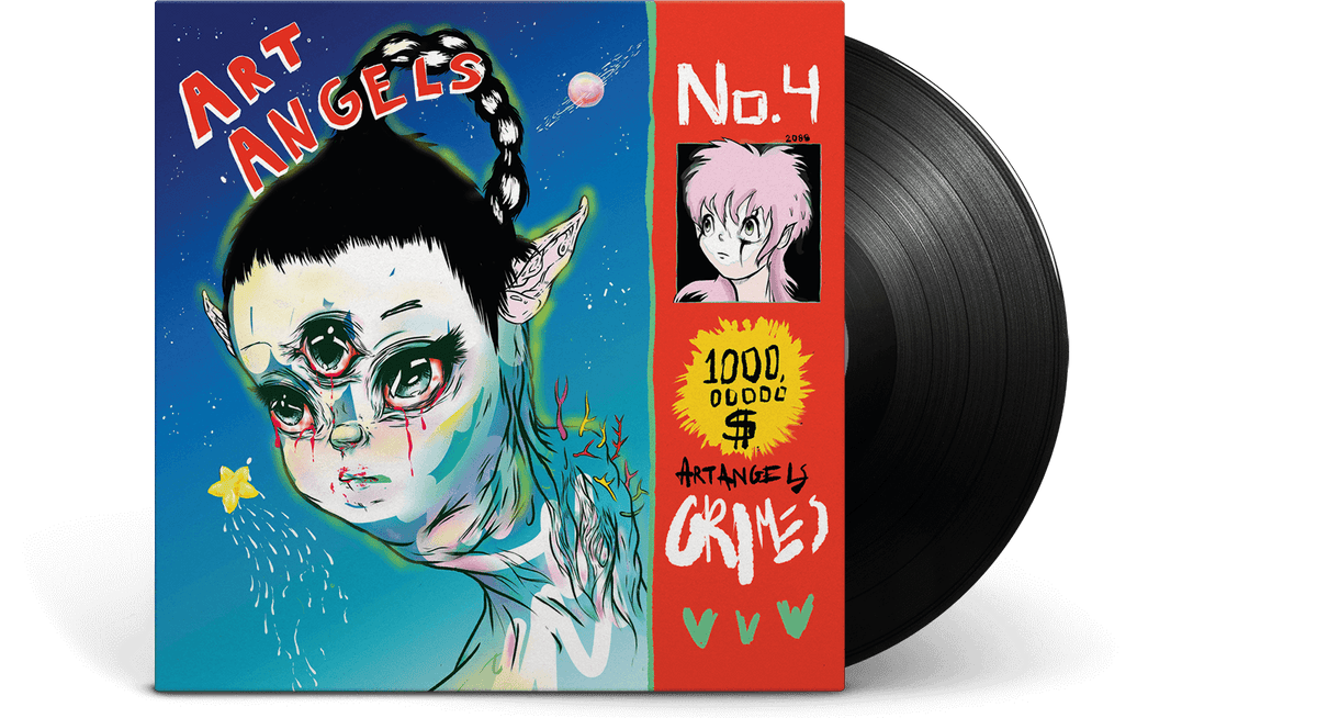 Vinyl - Grimes : Art Angels - The Record Hub