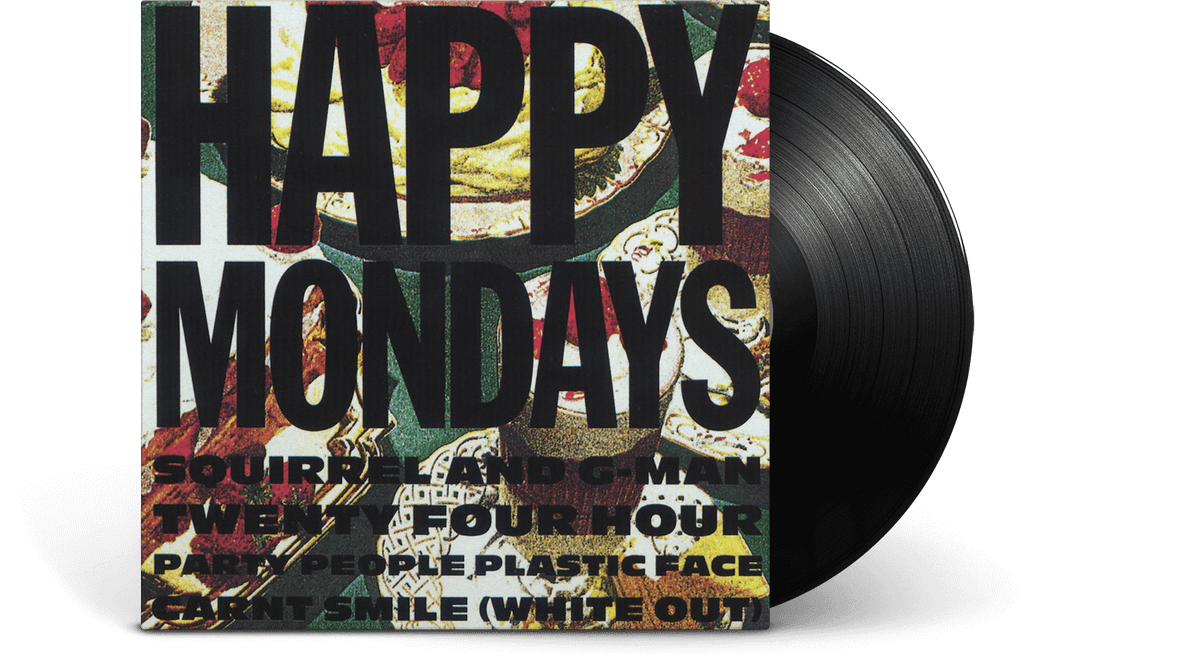 Vinyl - Happy Mondays : Squirrel And G-Man Twenty Four Hour Party People Plastic Face Carnt Smile (White Out) - The Record Hub