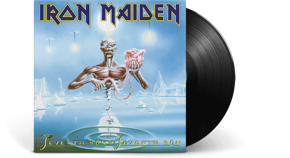 Vinyl - Iron Maiden<br> Seventh Son of a Seventh Son - The Record Hub