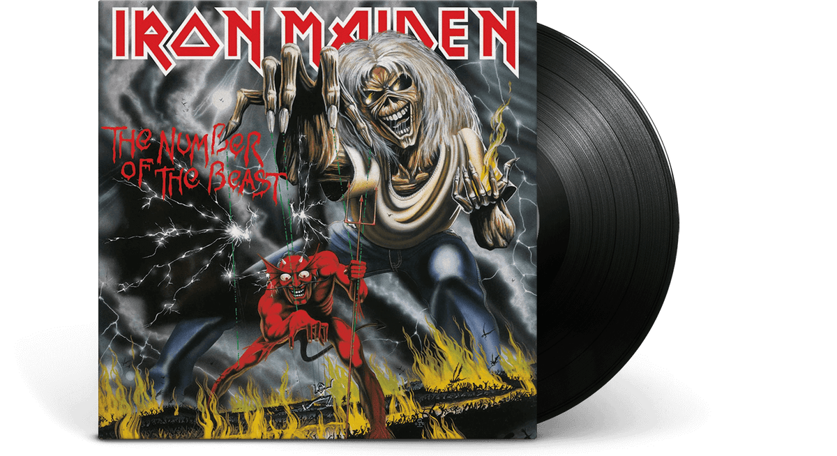 Vinyl - Iron Maiden <br> The Number of the Beast - The Record Hub