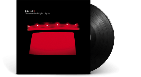 Vinyl - Interpol<br> Turn On The Bright Lights - The Record Hub